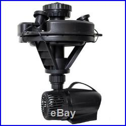 Pond Boss DFTN12003L 1/4 HP Floating Fountain with 3 Foutain Heads & 3 LED Lights