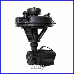 Pond Boss DFTN12003L Floating Fountain With Lights, 50 Foot Power Cord, 1/4 hp