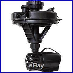 Pond Boss Floating Fountain with LED Lights 1/4 HP Pump, Model# DFTN12003L
