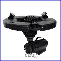 Pond Boss PROFTN51003L PRO Floating Fountain with Lights