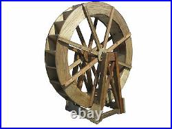 SamsGazebos 6-foot Free-Standing Wood Water Wheel, Made in the USA