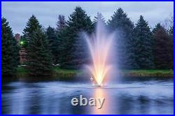 Scott Aerator Amherst Water Fountain with Color Changing Lights 3HP 100' Cord 230V