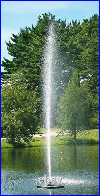 Scott Aerator Gusher Fountains Available in 1/2hp to 1-1/2hp Sizes