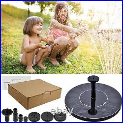 Source Solar Ecological with Pump Water Decoration Garden Pond Novelty
