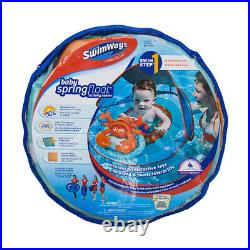 SwimWays Inflatable Baby Spring Lobster Pool Float Activity Center (6 Pack)