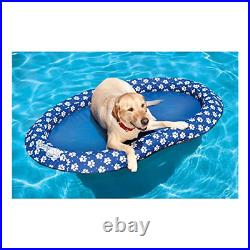 SwimWays Spring Float Paddle Paws Dog Pool Float Large 65 lbs and Up