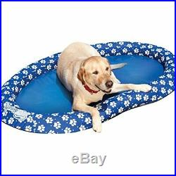 SwimWays Spring Float Paddle Paws Dog Pool Float Large (65 lbs and Up) New