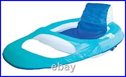SwimWays Spring Float Recliner Floating Pool Lounge Chair 2 Pack 13018