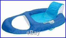 SwimWays Spring Float Recliner Floating Pool Lounge Chair (3-Pack) 13018