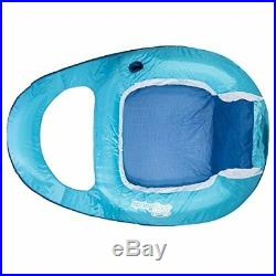 SwimWays Spring Float Recliner Swim Lounger for Pool Blue New FREE SHIPPING