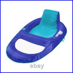 SwimWays Spring Float Recliner XL Floating Swimming Pool Lounge Chair (3 Pack)