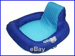 SwimWays Spring Float SunSeat Floating Chair for Pool, Beach, and Lake