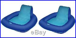 SwimWays Spring Float SunSeat Floating Pool Lounge Chair (2-Pack) 13017