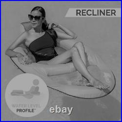SwimWays Swimming Pool Spring Lounger Chair Float Water Recliner with