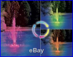 Swimline floating color-changing LED pool fountain (as)