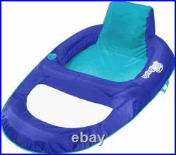 Swimways Spring Float Recliner XL 61 x 44.5 Collapsible Pool Float 2 Pack