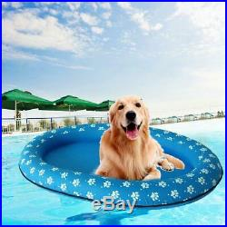 Swimways Spring Swimming Pool Inflatable Float Dog footprint Paddle Paws toy pet