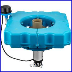 VEVOR Floating Lake and Large Pond Fountain 3/4 HP Durable DIY Kit Fountain Kit